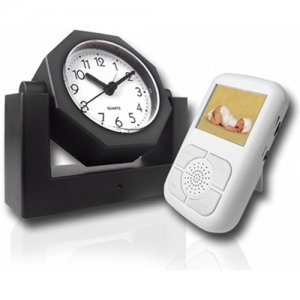 Covert Wireless Spy Camera Alarm Clock